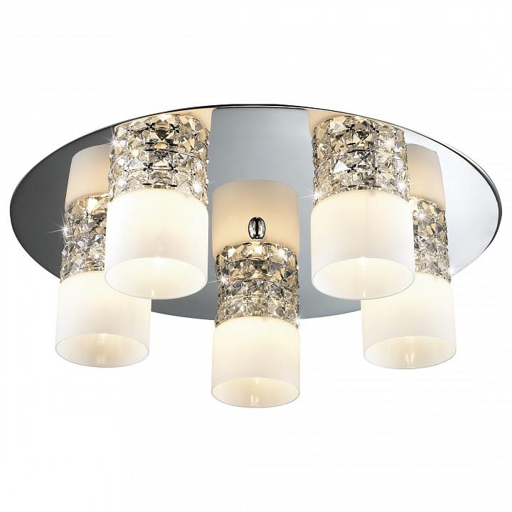 Потолочная люстра Odeon LightЭлитные светильники<br>Артикул - OD_2749_5C,Серия - Ottavia<br>