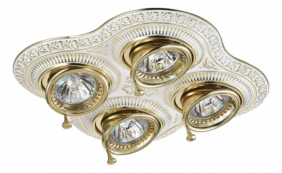 Встраиваемый светильник NovotechКлассические потолочные светильники<br>Артикул - NV_370179,Серия - Vintage<br>