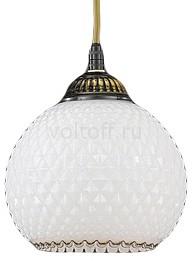 Подвесной светильник Reccagni AngeloСветильники под бронзу<br>Артикул - RA_L_8610_14,Серия - 8610<br>