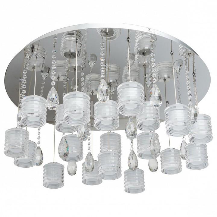 Потолочная люстра RegenBogen LIFEСветодиодные светильники<br>Артикул - MW_609011319,Серия - Фленсбург 1<br>