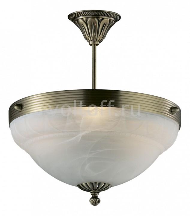 Подвесной светильник Odeon LightСветильники под бронзу<br>Артикул - OD_1992_3C,Серия - Palacio<br>