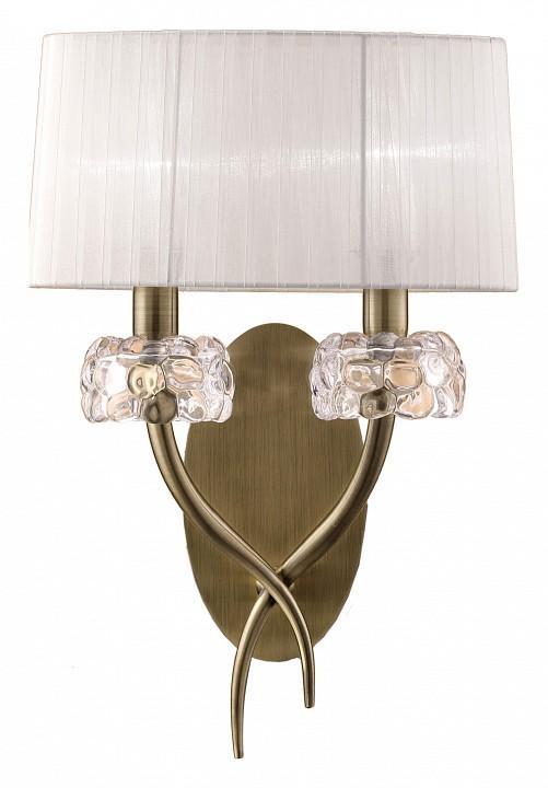 Бра MantraСветильники под бронзу<br>Артикул - MN_4734,Серия - Loewe<br>