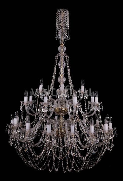 Подвесная люстра Bohemia Ivele CrystalЭлитные светильники<br>Артикул - BI_1406_16_8_4_400_G,Серия - 1406<br>