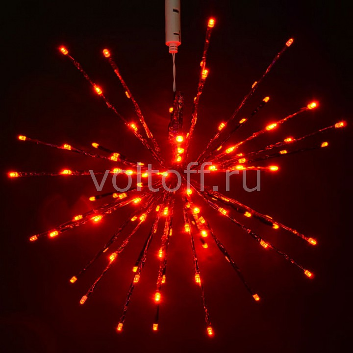 Звезда световая RichLED (0.45 м) Ёжики RL-TB45CF-R