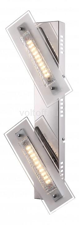 Накладной светильник GloboСветодиодные светильники<br>Артикул - GB_48696-2,Серия - Rarenium<br>