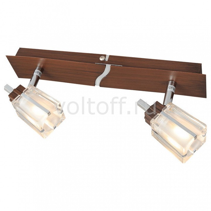 Спот De MarktС двумя лампами<br>Артикул - MW_518020102,Серия - Лайн<br>