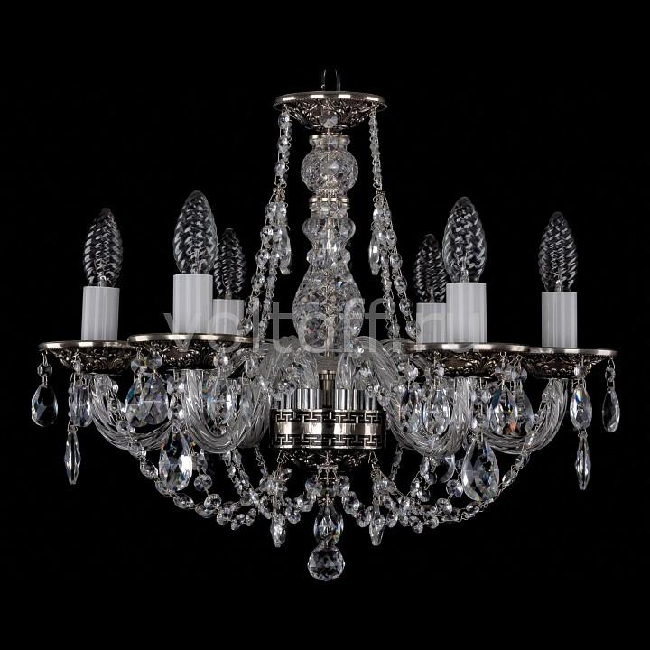 Подвесная люстра Bohemia Ivele CrystalЭлитные светильники<br>Артикул - BI_1606_6_160_NB,Серия - 1606<br>