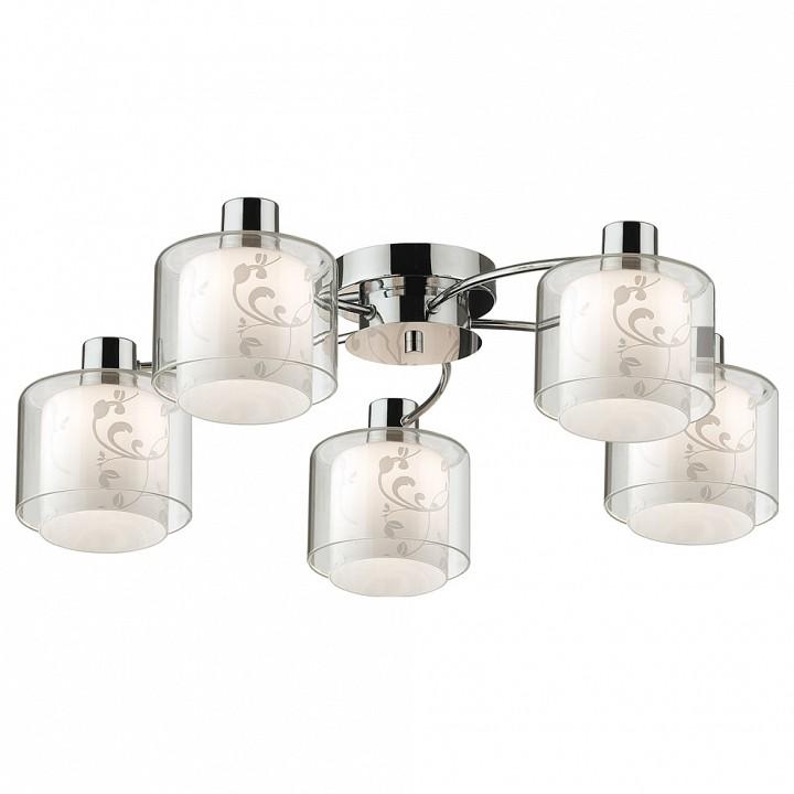 Потолочная люстра Odeon LightПотолочные светильники модерн<br>Артикул - OD_2210_5C,Серия - Isko<br>