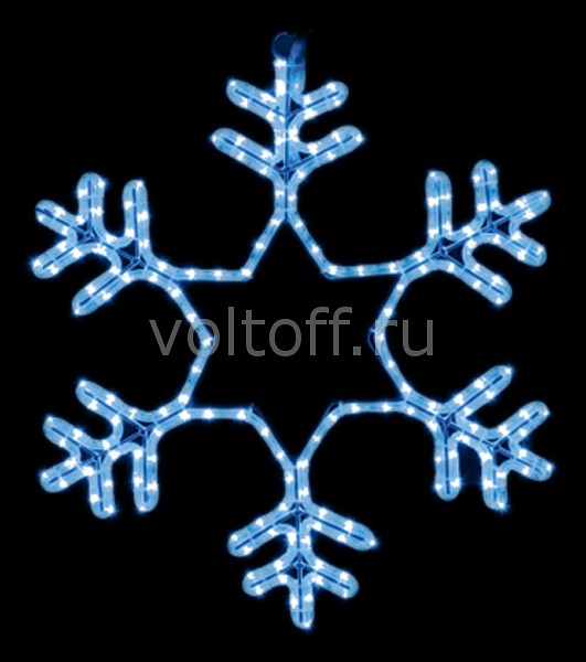 Панно световое (60x60 см) Снежинка NN-501 501-335
