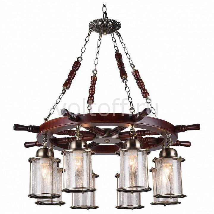 Подвесная люстра ST-LuceСветильники под бронзу<br>Артикул - SL150.303.08,Серия - Volantino<br>
