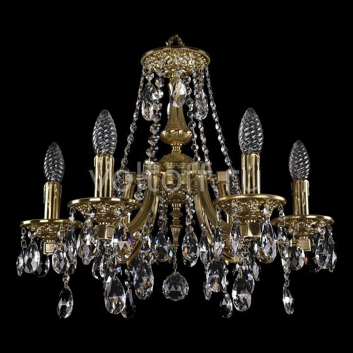 Подвесная люстра Bohemia Ivele CrystalЭлитные светильники<br>Артикул - BI_1771_6_150_A_GD,Серия - 1771<br>