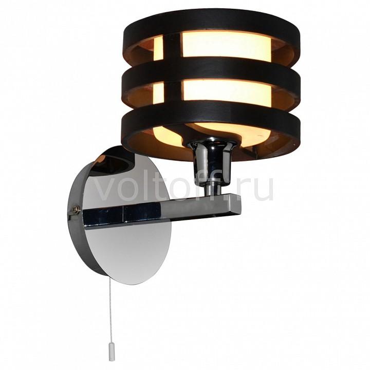 Бра Arte LampБра в стиле модерн<br>Артикул - AR_A1326AP-1BK,Серия - Ring<br>