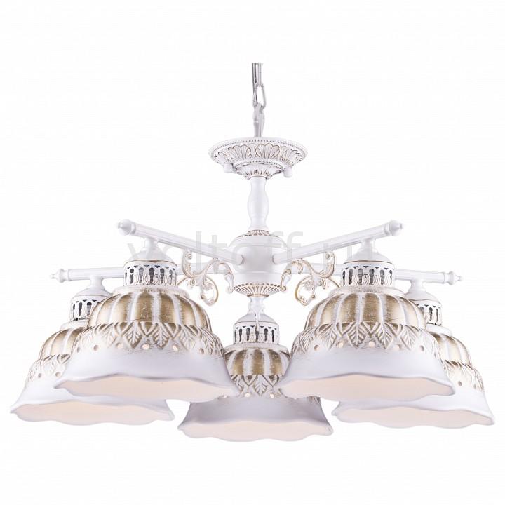 Подвесная люстра Arte LampКлассические потолочные светильники<br>Артикул - AR_A2814LM-5WG,Серия - Chiesa<br>