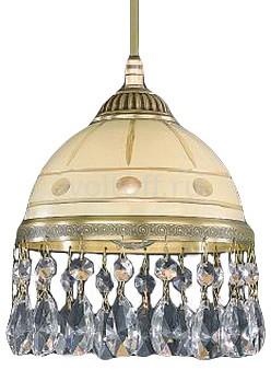 Подвесной светильник Reccagni AngeloСветильники под бронзу<br>Артикул - RA_L_7003_16,Серия - 7003<br>