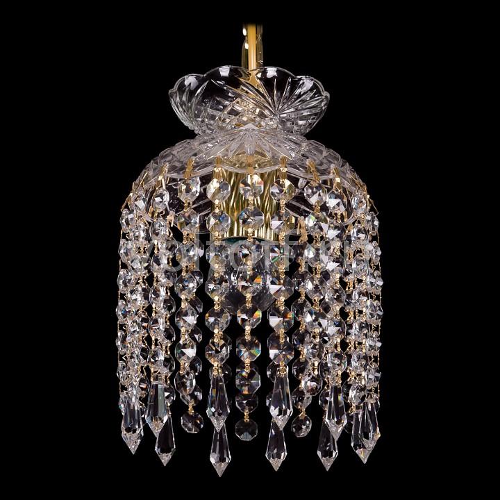 Подвесной светильник Bohemia Ivele CrystalЭлитные светильники<br>Артикул - BI_7710_15_G_Drops,Серия - 7710<br>