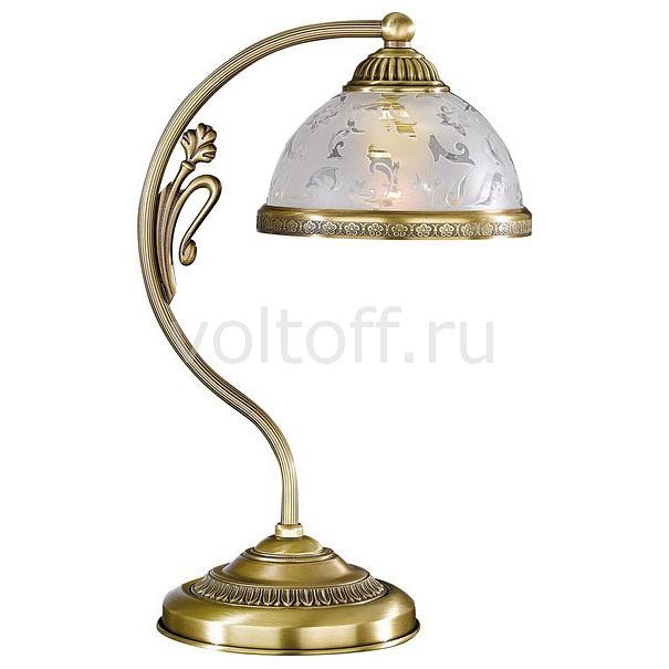 Настольная лампа Reccagni AngeloСветильники под бронзу<br>Артикул - RA_P_6202_P,Серия - 6202<br>
