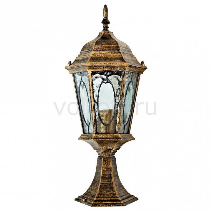 Наземный низкий светильник FeronКлассические светильники<br>Артикул - FE_11330,Серия - Витраж с овалом<br>
