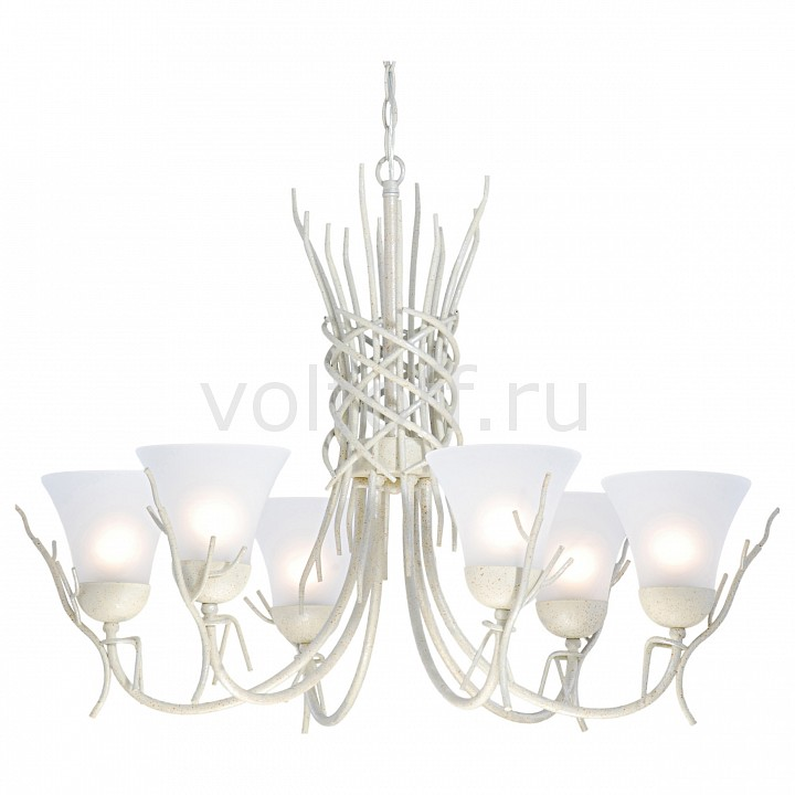 Подвесная люстра Arte LampПотолочные светильники модерн<br>Артикул - AR_A4111LM-6WA,Серия - Brushwood<br>