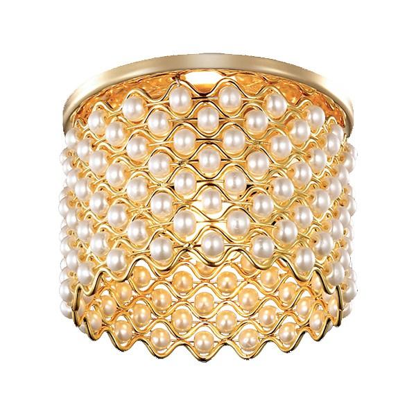 Встраиваемый светильник NovotechМеталлические светильники<br>Артикул - NV_369890,Серия - Pearl<br>