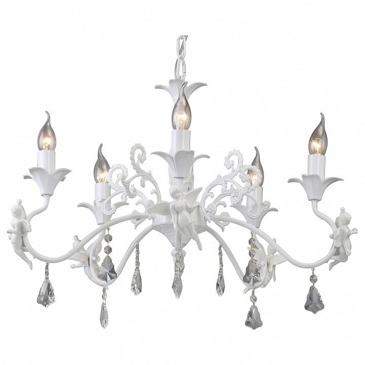 Подвесная люстра Arte LampЭлитные светильники<br>Артикул - AR_A5349LM-5WH,Серия - Angelina<br>