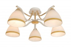 ...кол-во ламп - 5, Лампы в комплекте - отсутствуют, Количество плафонов - 5, Возможность подключения диммера - можно.