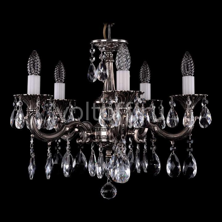 Подвесная люстра Bohemia Ivele CrystalЭлитные светильники<br>Артикул - BI_1701_5_A_NB,Серия - 1701<br>