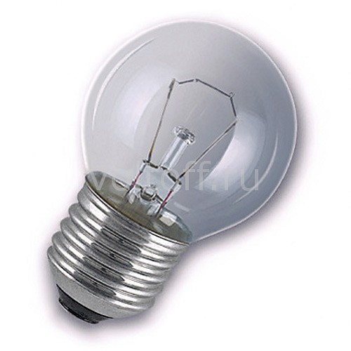 Лампа накаливания E27 60W 2800K 092447 www.voltoff.ru 50.000
