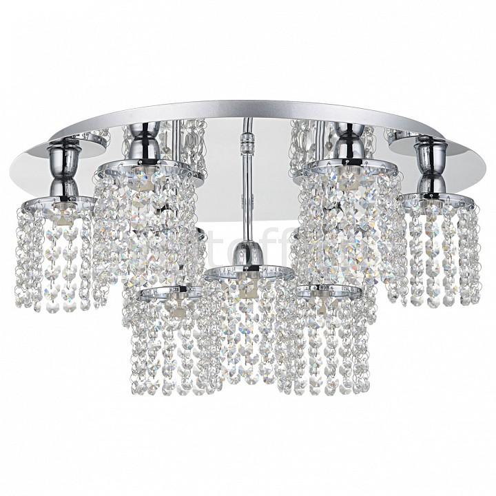 Потолочная люстра LussoleЭлитные светильники<br>Артикул - LSJ-0407-09,Серия - Monteleto<br>