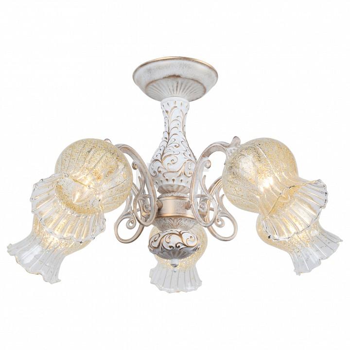 Люстра на штанге Arte LampПотолочные светильники модерн<br>Артикул - AR_A6336PL-5WG,Серия - Gemma<br>