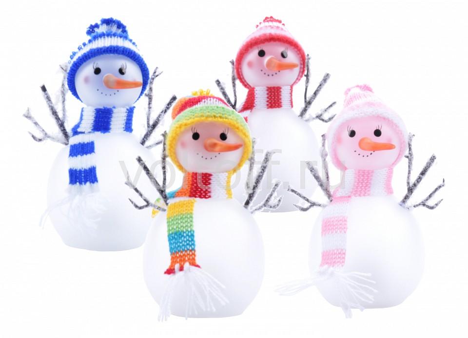 Комплект из 12 снеговиков световых (11 см) Globo от Voltoff