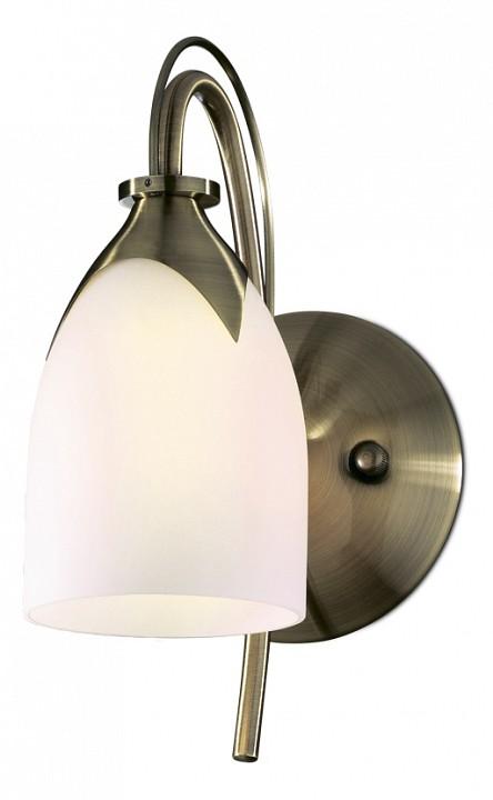 Бра Odeon LightСветильники под бронзу<br>Артикул - OD_2079_1W,Серия - Risto<br>
