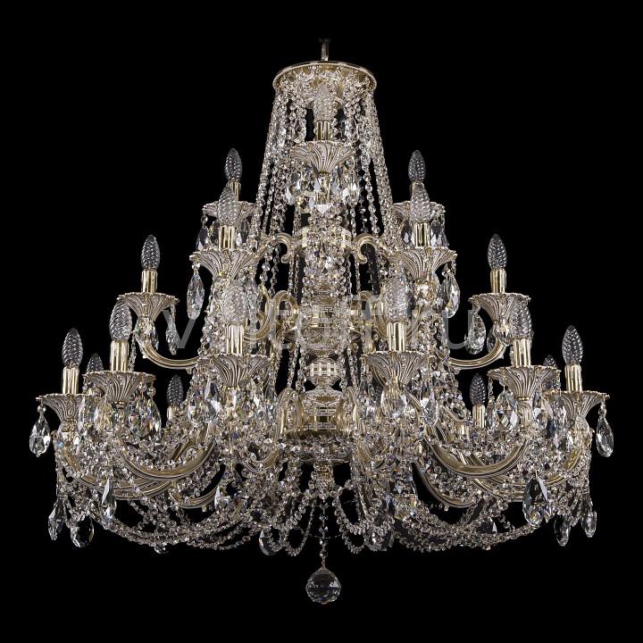 Подвесная люстра Bohemia Ivele CrystalЭлитные светильники<br>Артикул - BI_1732_12_6_3_335_C_GW,Серия - 1732<br>
