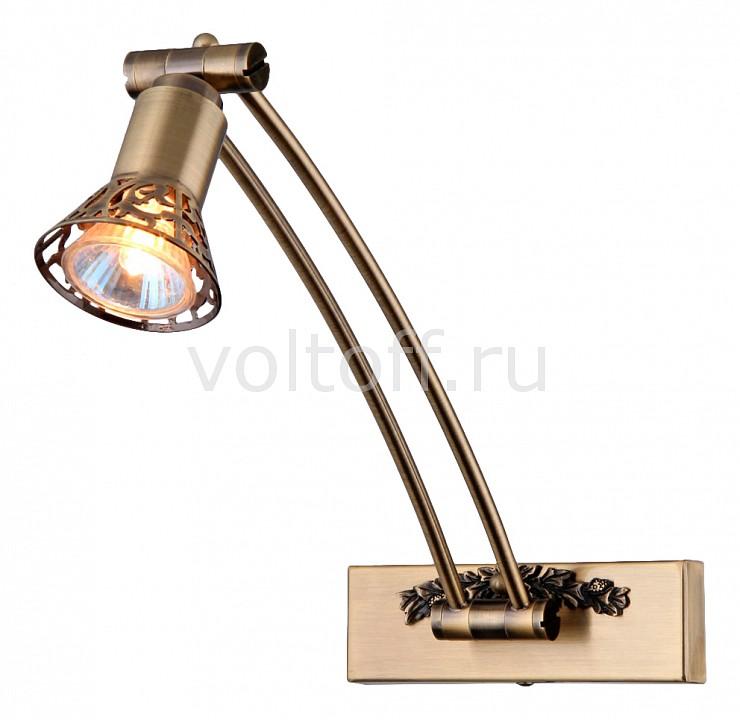 Светильник на штанге MaytoniСветильники под бронзу<br>Артикул - MY_PIC121-01-R,Серия - Matiss<br>