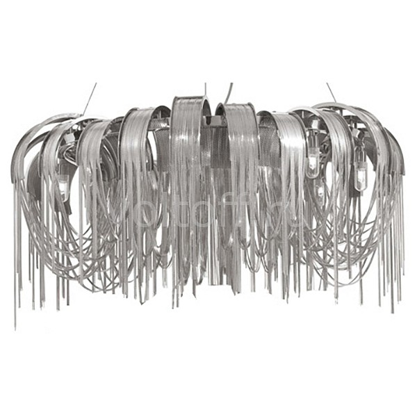 Подвесная люстра Crystal LuxМеталлические светильники<br>Артикул - CU_1970_308,Серия - Heat<br>