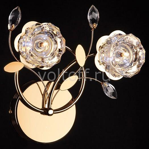 Купить Хрустальные светильники Бра 4826/2 золото/белый  Бра 4826/2 золото/белый