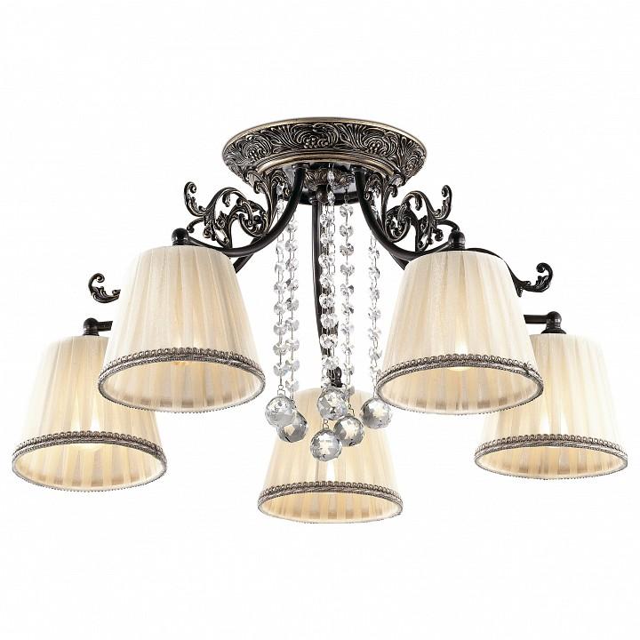 Потолочная люстра Odeon LightСветильники под бронзу<br>Артикул - OD_2696_5C,Серия - Veado<br>