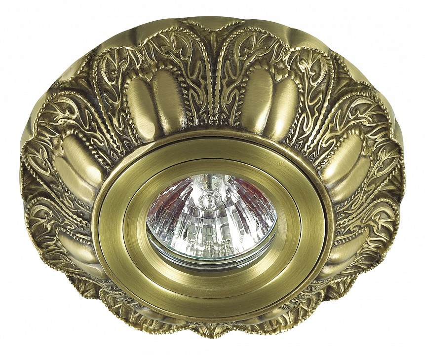 Встраиваемый светильник NovotechСветильники под бронзу<br>Артикул - NV_370186,Серия - Latica<br>
