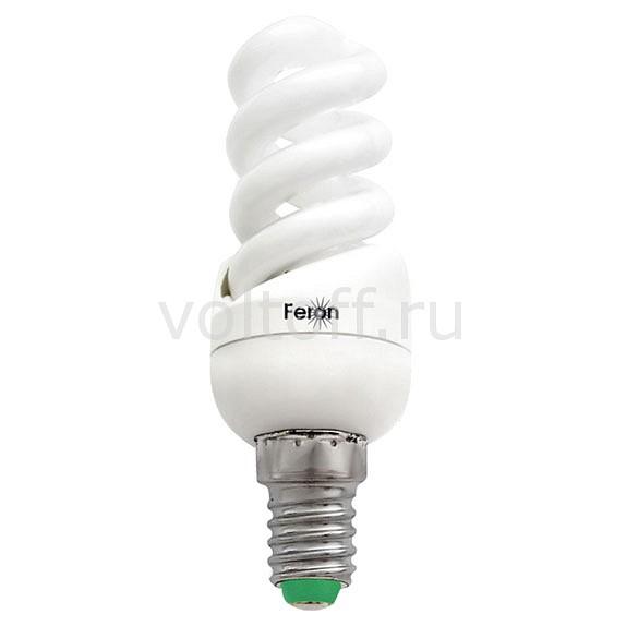 Лампа компактная люминесцентная Feron E14 11Вт 2700K ELT19 04937