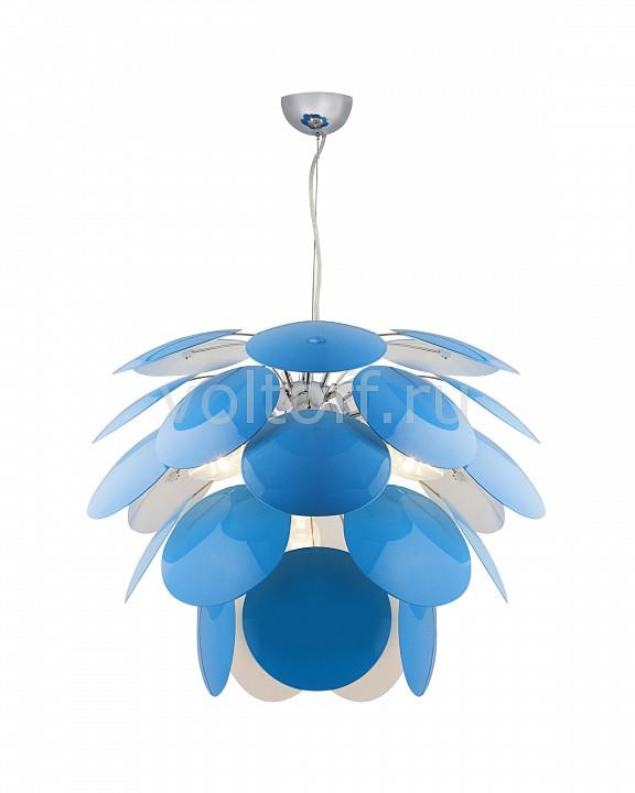 Подвесная люстра Luce SolaraМеталлические светильники<br>Артикул - LC_3000_4S_Blue_White,Серия - 3000<br>