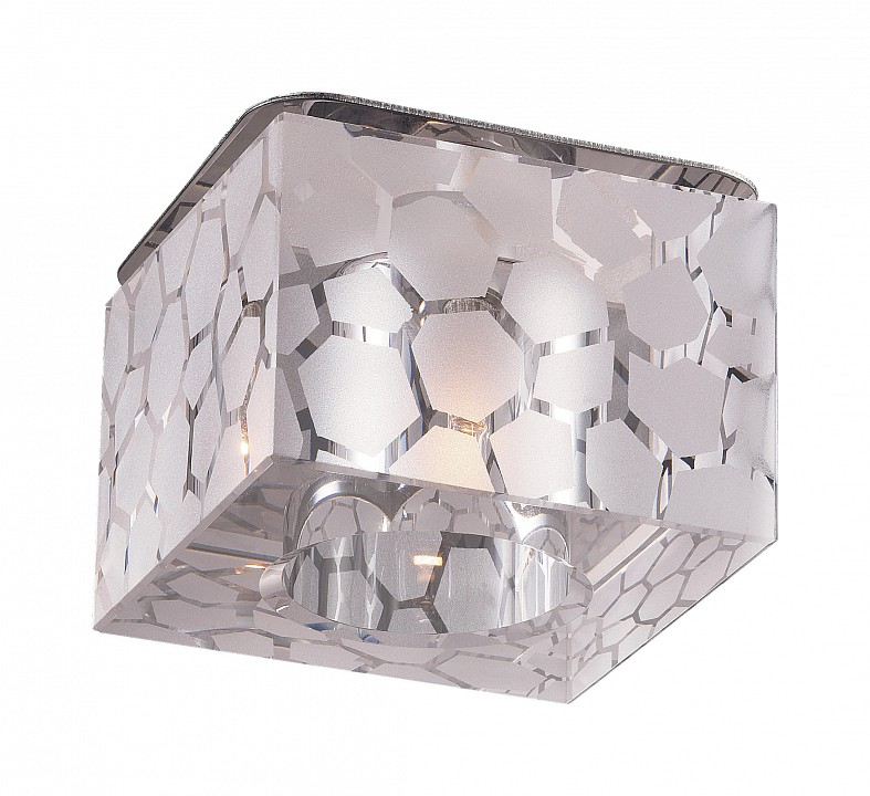 Встраиваемый светильник NovotechПотолочные светильники модерн<br>Артикул - NV_369425,Серия - Cubic<br>
