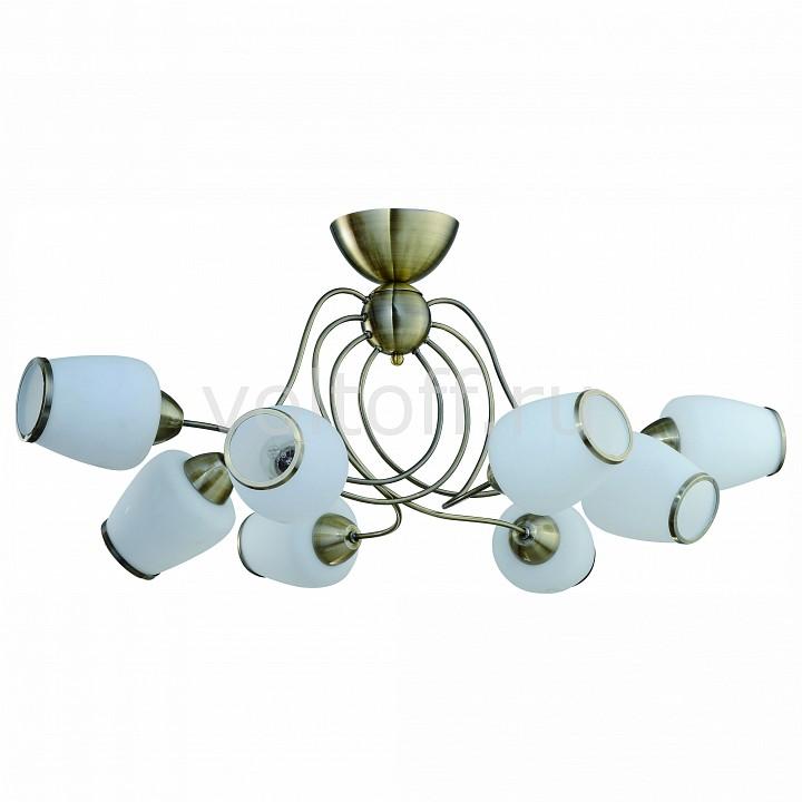 Потолочная люстра IDLampСветильники под бронзу<br>Артикул - ID_816_8PF-oldbronze,Серия - 816<br>
