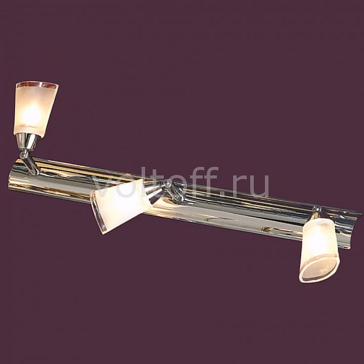 Спот LussoleПотолочные светильники модерн<br>Артикул - LSL-5091-03,Серия - Rasen<br>