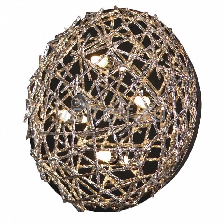 Накладной светильник LussoleМеталлические светильники<br>Артикул - LSQ-0602-04,Серия - Avacelli<br>