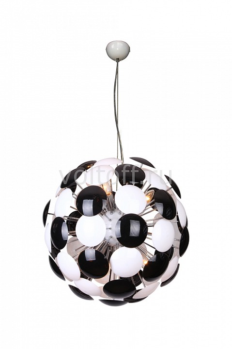 Подвесной светильник Luce SolaraПодвесные светильники модерн<br>Артикул - LC_3027_6S_Black_White,Серия - 3027<br>
