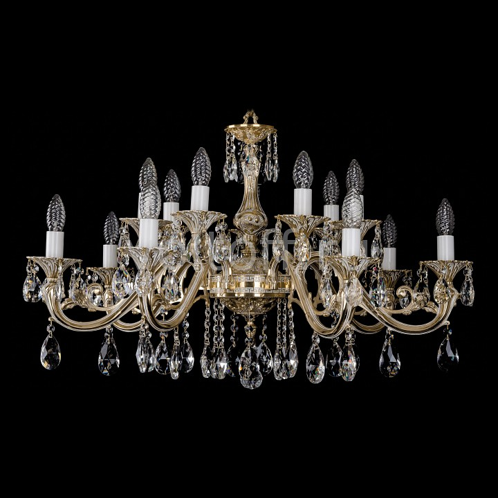 Подвесная люстра Bohemia Ivele CrystalЭлитные светильники<br>Артикул - BI_1703_14_A_GW,Серия - 1703<br>