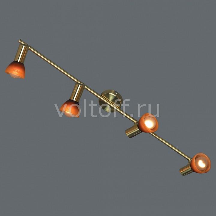 Спот LussoleПотолочные светильники модерн<br>Артикул - LSQ-4199-04,Серия - Leggero<br>