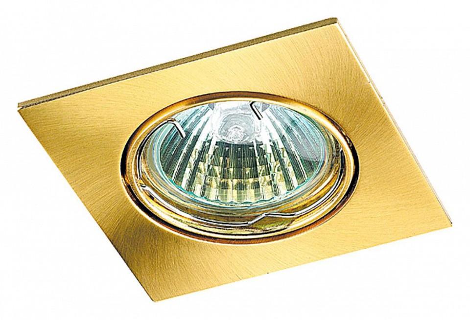 Встраиваемый светильник NovotechМеталлические светильники<br>Артикул - NV_369107,Серия - Quadro<br>