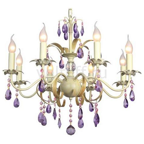 Подвесная люстра IDLampЭлитные светильники<br>Артикул - ID_257_8-Whiteplatina,Серия - 257<br>