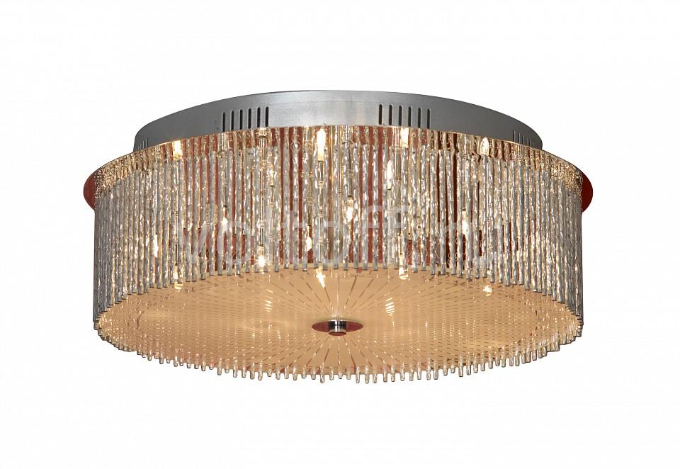 Накладной светильник LussoleМеталлические светильники<br>Артикул - LSA-5807-14,Серия - Angera<br>