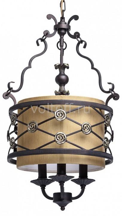 Подвесной светильник ChiaroСветильники под бронзу<br>Артикул - CH_382016103,Серия - Айвенго 8<br>